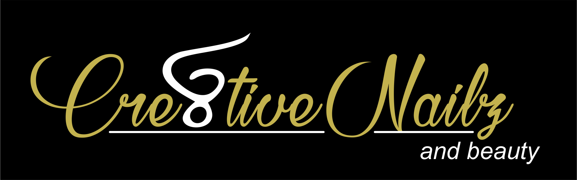 Cre8tive Nailz and Beauty Logo